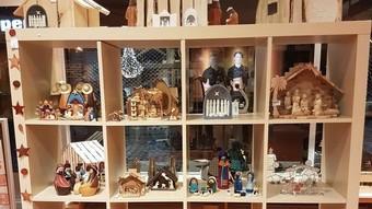 kerststallen in Wereldwinkel Wijk bij Duurstede