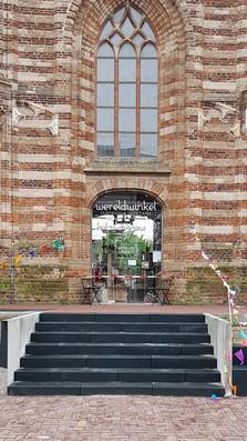 Nieuwe ingang Wereldwinkel Sint Michielsgestel