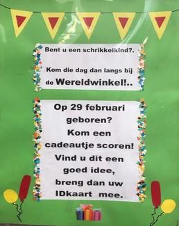 affiche Wereldwinkel Zaandam